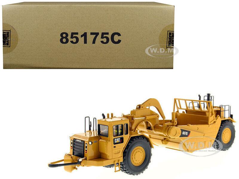 Cat Caterpillar 657 G Rueda Tractor Raspador 1 50 Modelo Diecast Masters 85175 C