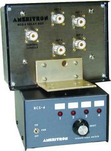 Ameritron Rcs 4 Remote Coax Switch 4 Position Ebay