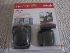 New xact Sirius satellite radio home kit model xs052 visor