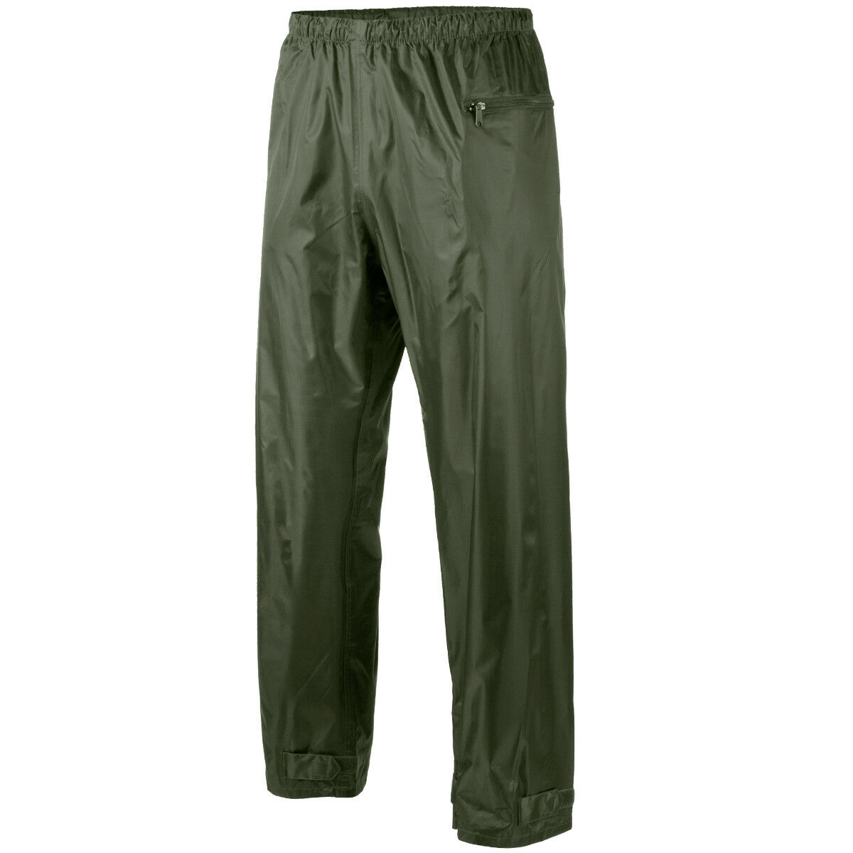MFH Rain Pants Mens Waterproof Army Military Outdoor Fishing Trousers OD Green