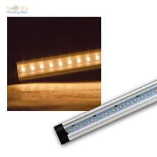 SMD LED Unterbauleuchte 30cm warmweiß 240lm, Alu Lichtleiste 12V, Leiste Leuchte