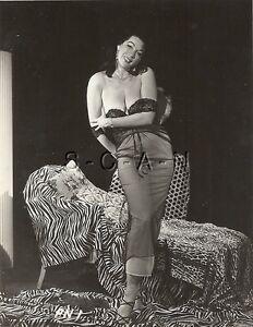 Org Vintage 40s-60s Semi Nude RP- Super Endowed- Stockings