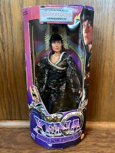 "Warlord Xena Vintage Warrior Princess 12"" Figure Doll New NIB 1999 Toybiz 90s"