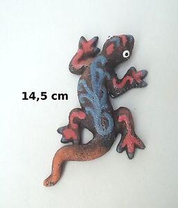 Superbe Lézard En Céramique ,décoration,collection,gecko,salamandre G-t3 01 4clfwyr1-08005341-610547249