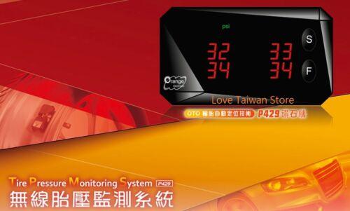 New Orange TPMS P429 Tire Pressure Monitoring System Internal TPMS