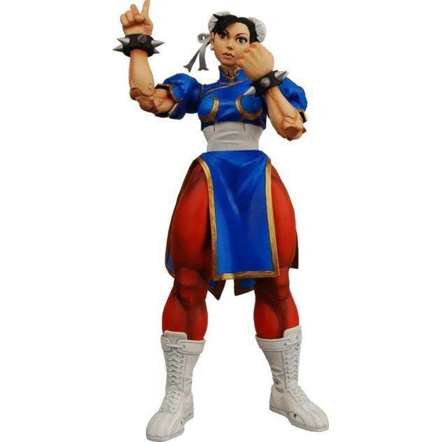 Chun Li Street Fighter IV Capcom Series 2 Action Figur NECA