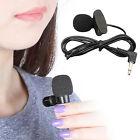 3.5mm Hands Free Computer Clip On Mini Lapel Microphone for PC Laptop Cheap