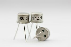 2N4239 INTEL TRANSISTOR NOS( New Old Stock ) 1PC. C326U18F130514
