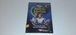 MY-FAVORITE-MARTIAN-Brand-New-Factory-Sealed-DVD-Walt-Disney-Christopher-Lloyd