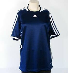 066792d71cbbc Image is loading Adidas-ClimaCool-Formotion-Trofeo-Navy-Blue-Soccer-Shirt-