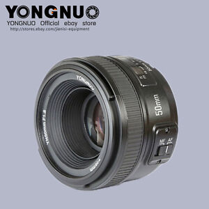 Sales-YONGNUO-Fixed-Prime-Auto-Focus-Lens-YN-50MM-F-1-8-For-Nikon