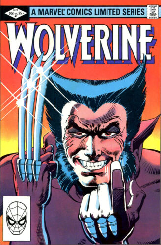WOLVERINE Comic Cover 1st Edition Cover Reproduction Vintage Wall Art Print #30
