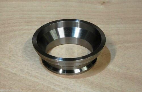 "2.25/"" to 3/"" Steel Exhaust V-band ADAPTER vband V Band adaptor Flange CNC 3/"" 2.25"