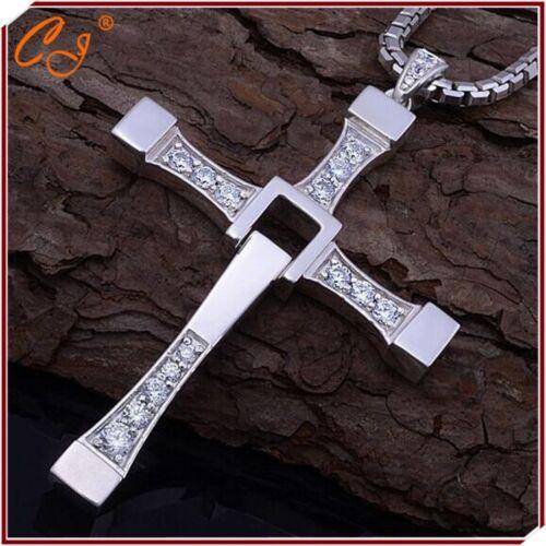 Rapide Et Furious Collier homme croix prier Sainte article Dominic accessoires NEUF