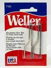 Weller 7135 Soldering Gun Tips For 8200 Solder Iron Electronics Repair Pack Of 2