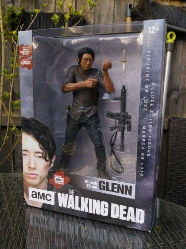 """McFARLANE giocattolo The Walking Dead Glenn 10/"""" Action Figure scatole Nuovo di Zecca danneggiato"""