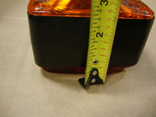 FORD ALLIS CHALMERS MASSEY FERGUSON CASE TRACTOR FENDER AND CAB WARNING LIGHT
