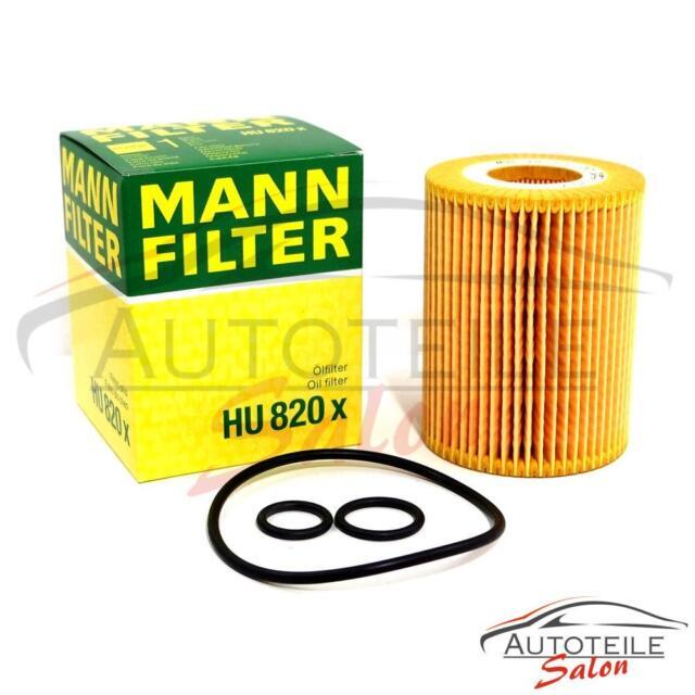Original MANN Ölfilter Oil Filter Honda Opel HU820x evotop NEU