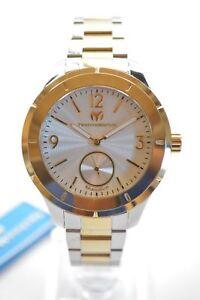 Technomarine-TM-117028-Moonsun-Two-Tone-Stainless-Steel-Men-039-s-Watch