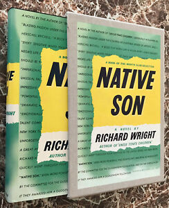 Native Son, Richard Wright~Slipcased Facsimile of 1940 First Edition