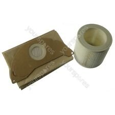 FILTER & BAGS for KARCHER WD2.200 WD3.500 Wet & Dry Vacuum Cleaner