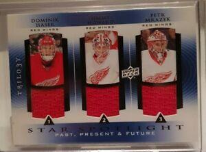2013-14-Trilogy-Star-Spotlight-Dominik-Hasek-Howard-Mrazek-Detroit-Red-Wings