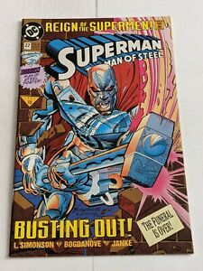 Superman-The-Man-Of-Steel-22-June-1993-DC-Comics