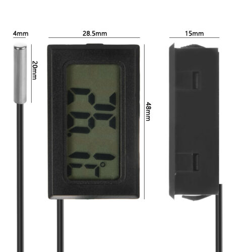5x Digital LCD Thermometer 50-110℃ Temperatur Anzeige Termometer Innen//Außen