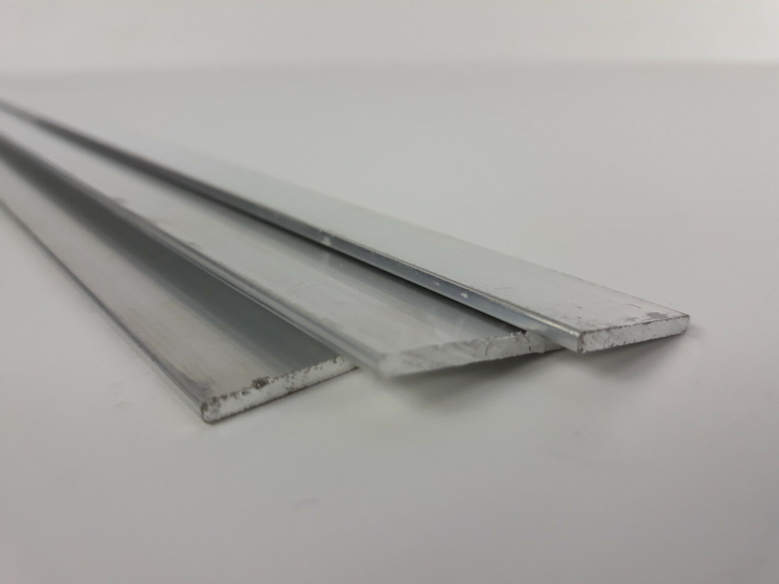 Alu Flachstange 10x2mm Aluprofil Aluminium Stange 1m