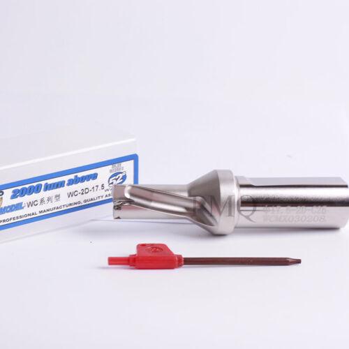 Φ17.5-3D-C25 U Drill 17.5mm-3D indexable drill bit  for wcmx03 insert