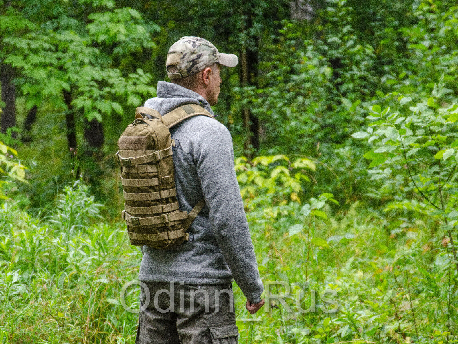 Russian Tactical Molle Sac à dos  DINGO  Style Urbain (Coyote marron)