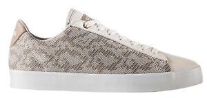 Dettagli su SCARPE ADIDAS CF DAILY QT CL W donna panna sneakers memory foam CG5755 nuove
