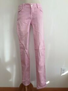 2d821ef6 Image is loading ZARA-Trafaluc-Core-Denim-Slim-Jeans-Pink-Size-