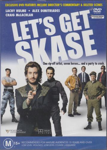 Let's Get Skase OZ COMEDY MOVIE GENUINE REG 4 DVD EX RENT RARE OOP GOOD
