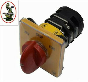 Milling Machine Part Forward Reverse 3 Phase Motor Mill Switch For BRIDGEPORT