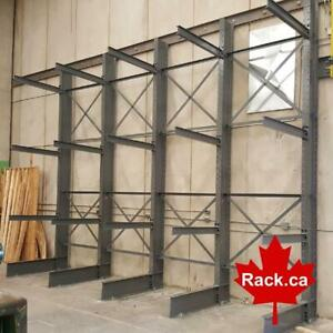 Large in-house stock of cantilever racking in stock ready for quick ship. City of Toronto Toronto (GTA) Preview