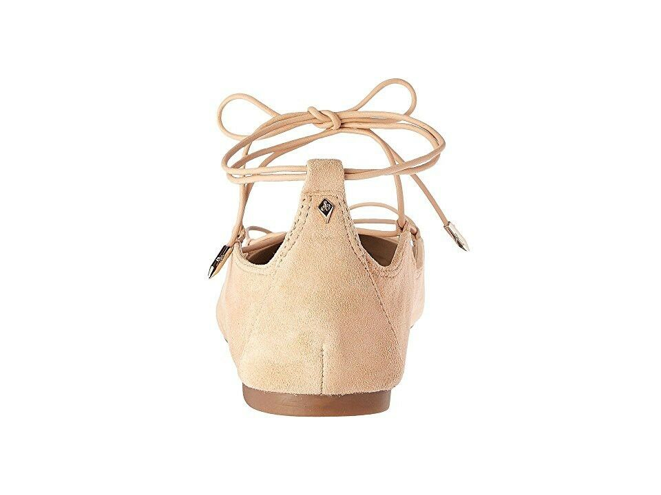 NEW Sam Edelman Flynt Ballet Flats Suede Suede Suede Ghillie Size 9.5 b7a83b