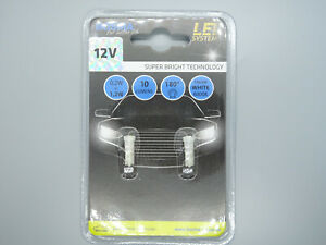 T5 LED Instrumentenbeleuchtung 12 V//1,2 W /_ blau 5 Stk.