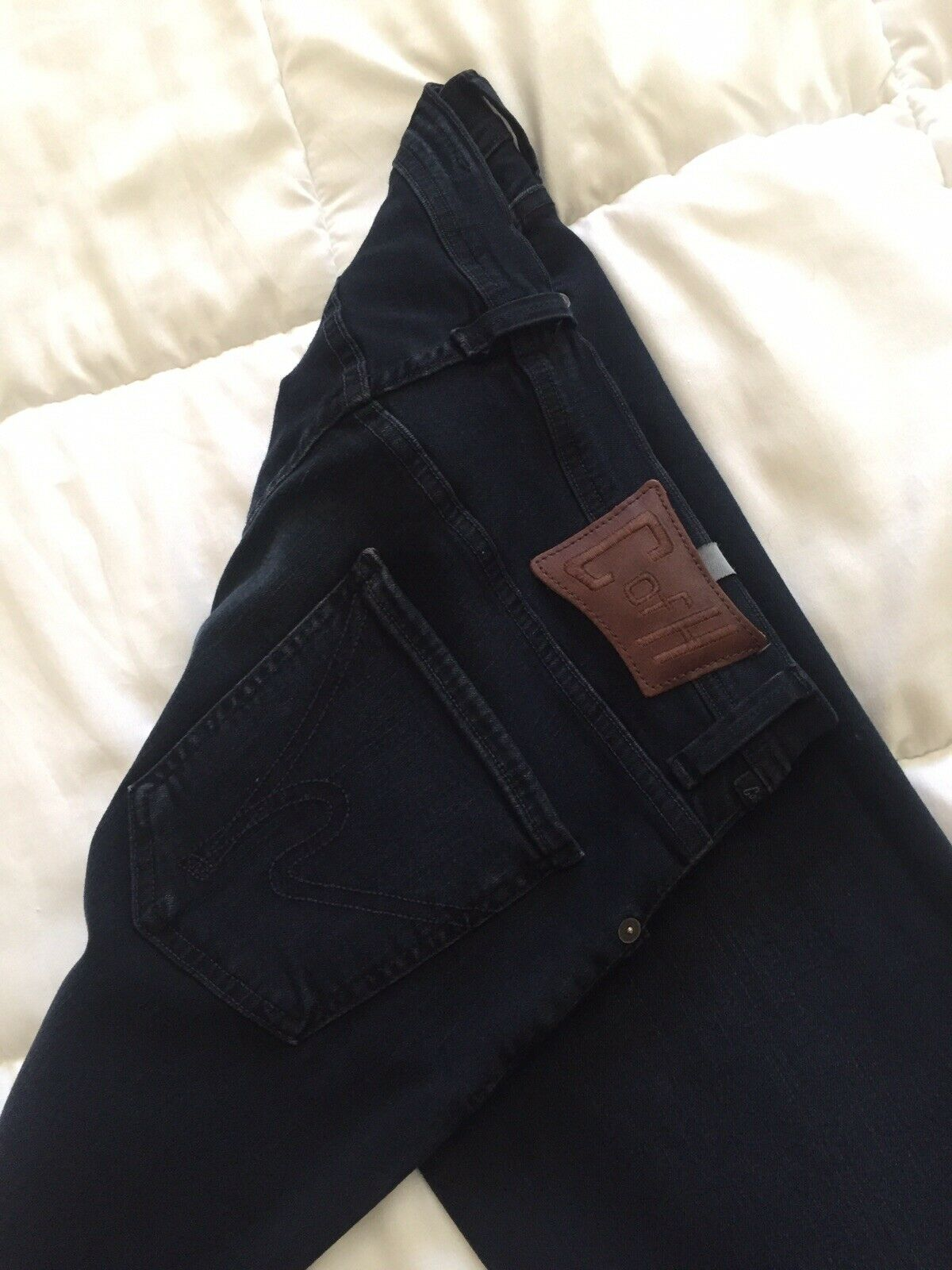 Men's citizen of humanity jeans, stretch straight relaxed fit mens size 32