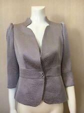 Armani Collezioni Ladies Jacket Lavender/Lilac. Luxury Designer. Size XS