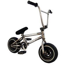 Wildcat BMX Bici PRO Mini Bambini Adulti Ragazzi Ragazza Piccolo Stunt Grezzi di Metallo 3 PZ CRANK