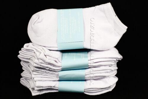 6-8 Kids Boy/'s Girl/'s Mid High School Comfort White Socks Cotton Spandex Junior