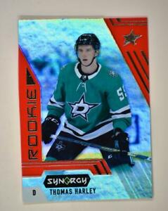 2020-21 UD Synergy Red Rookie #101 Thomas Harley RC - Dallas Stars
