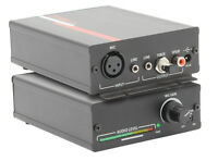 Hall Research Hr-101-s Compact Xlr Microphone Amplifier +stereo Line Level Mixer on sale