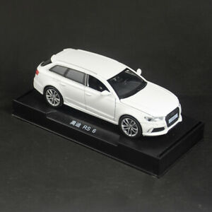 Audi-RS6-Quattro-1-32-Metall-Die-Cast-Modellauto-Spielzeug-Model-Sammlung-Weis