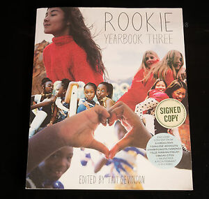 Rookie-Yearbook-Three-3-by-Tavi-Gevinson-2014-Paperback-SIGNED-by-author