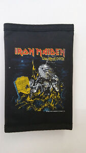 Iron-Maiden-live-after-death-metal-band-WALLET-vintage-music