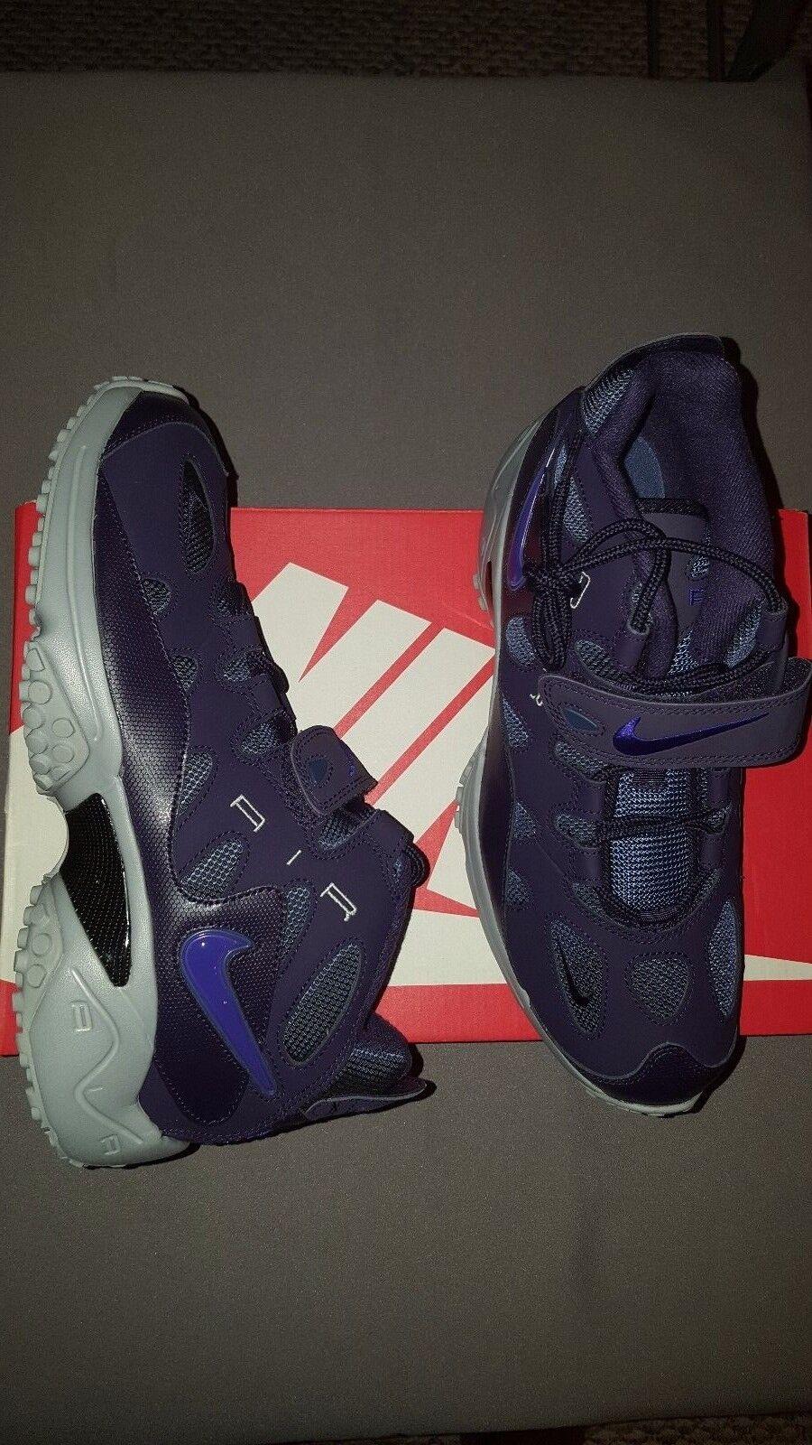 Nike air territorio raider viola nero 580401 500 uomini scarpe scatola sz 10 nuovi in scatola scarpe 7b90e2