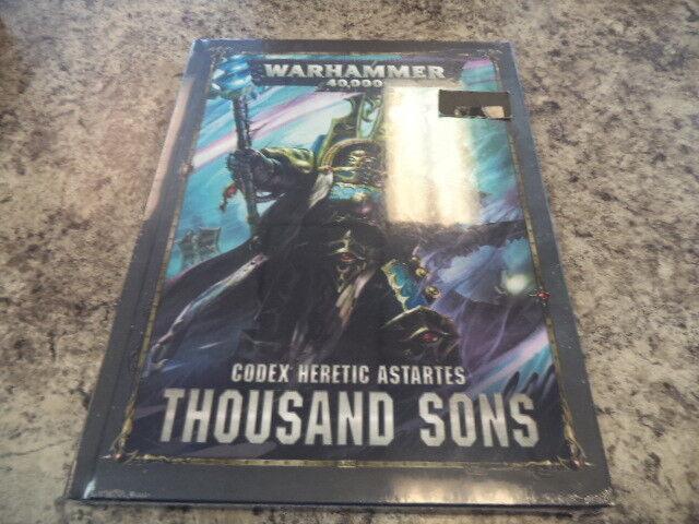 Warhammer 40k Thousand Sons 8th Edition Codex Game Workshop 40,000 New HC Book