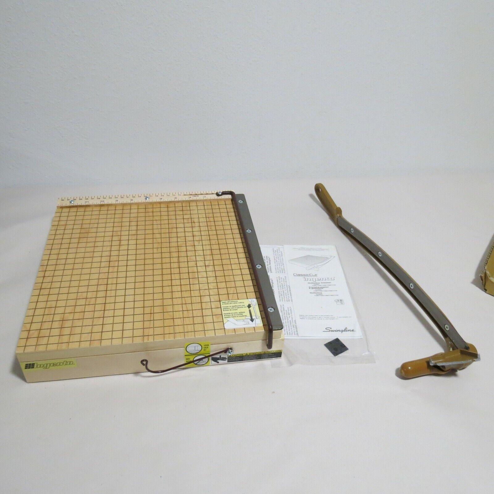 Swingline ClassicCut Ingento Guillotine Trimmer 12 inch  No. 1132A Parts Repair